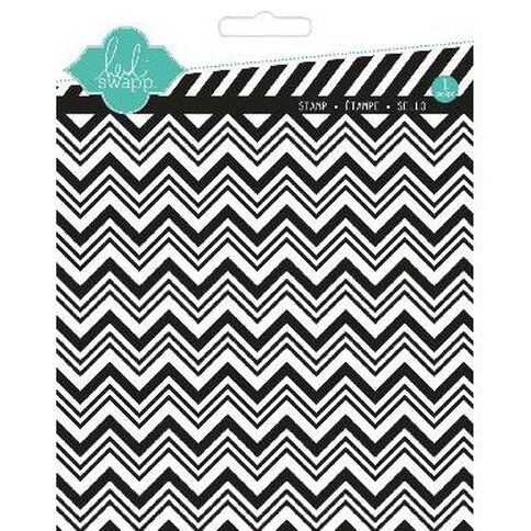 Heidi Swapp Stamps Large Chevron Clear