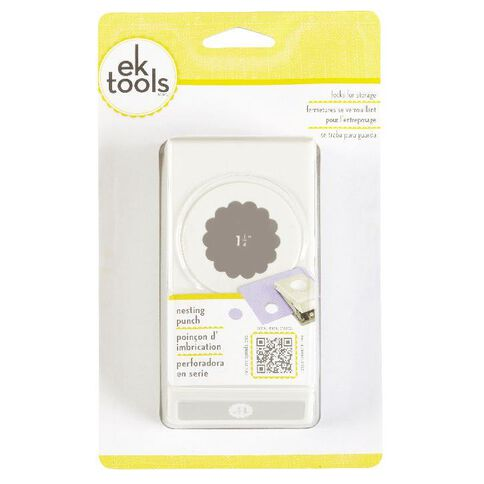 EK Tools Success Scallop Punch Circle 1.25 Multi-Coloured