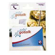 Go Talk Rechargable Calling Card $5