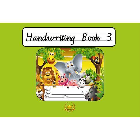 GT Handwriting Book 3 Green