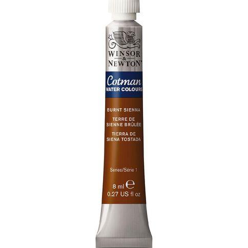 Winsor & Newton Cotman Watercolour Paint 8ml Burnt Sienna