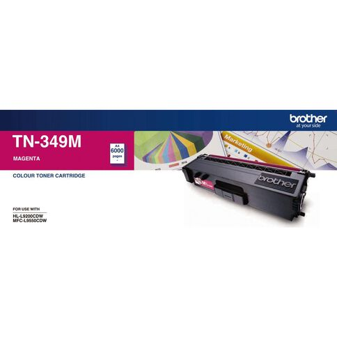 Brother Toner TN349 Magenta (6000 Pages)