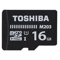 Toshiba EXCERIA 16GB Micro SD M203 UHS-1 Class 10