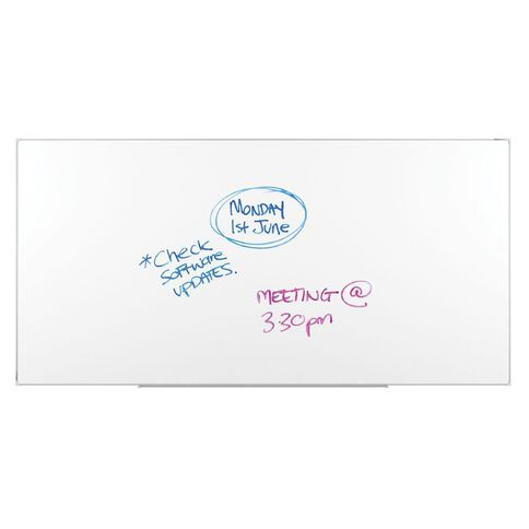 Boyd Visuals Lacquered Whiteboard 2400 x 1200 White