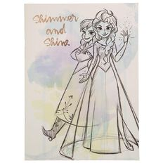 Frozen Scrapbook 32 Sheets