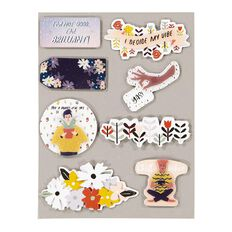 Uniti Empowerment Dimensional Stickers