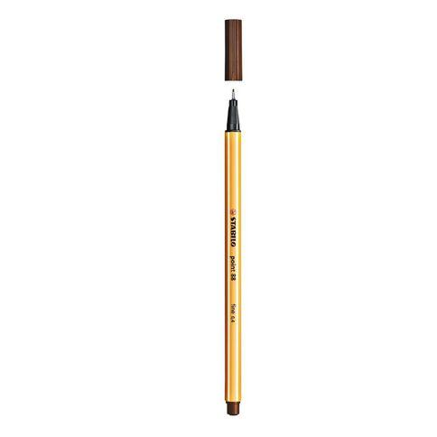 Stabilo Point 88 Fineliner 0.4mm Brown
