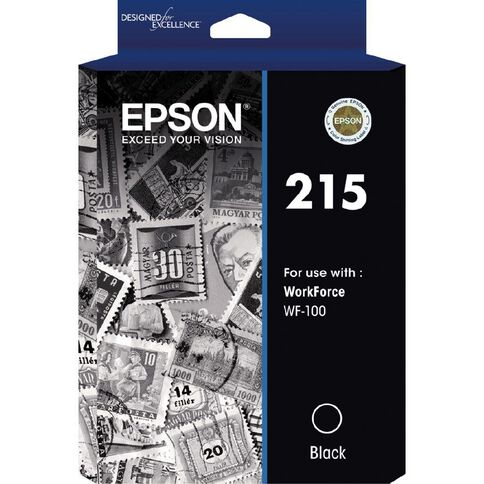 Epson Ink 215 Black (250 Pages)