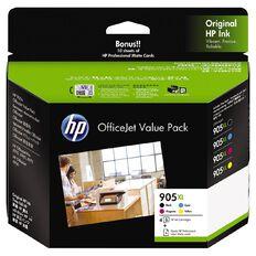 HP Ink 905XL Office Value Pack Inkjet Matte Cards