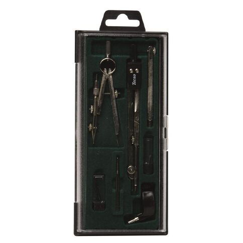 Faber-Castell Compass Set Techno 74 Black