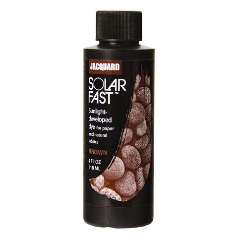 Jacquard Solarfast Dye 118.29ml Brown