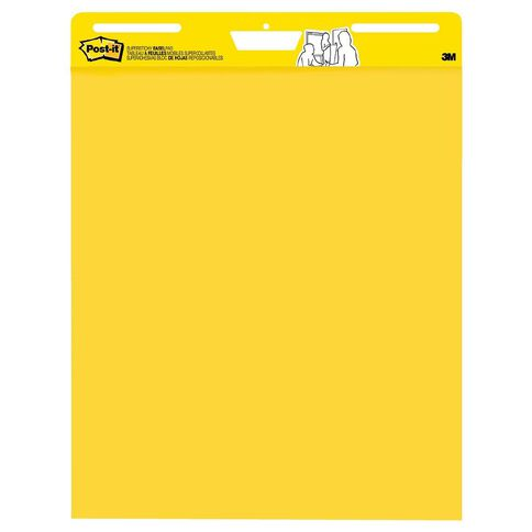 Post-It Yellow Easel Pad 559YW