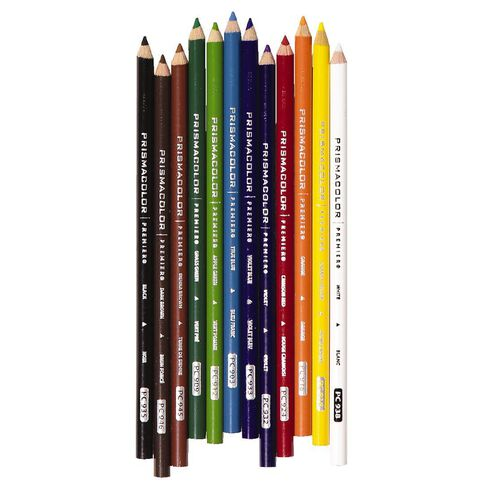 Prismacolor Premier Coloured Pencils Soft Core 12 Pack