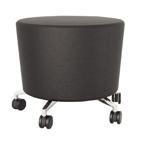 Cookie Stool Black PU