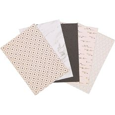 Uniti Designer Paper Pack A4 24 Sheet Neutral Foils