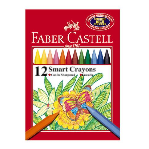 Faber-Castell Crayons Smart 12 Pack