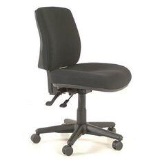 Buro Seating Roma 2 Lever Midback Chair Black Black
