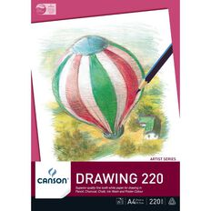 Canson Premium Drawing Pad 220gsm A4