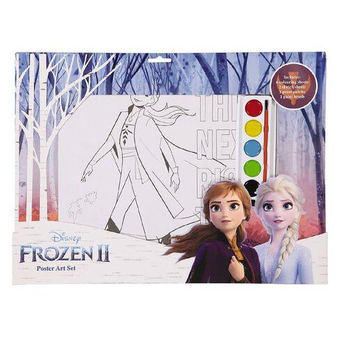 Frozen 2 Paint Colouring Set