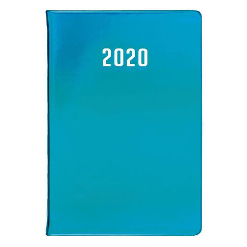 Dats Diary 2020 Week To View Iridescent Assorted A5