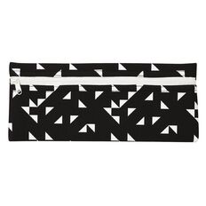 WS Pencil Case Neoprene Black/White 30cm