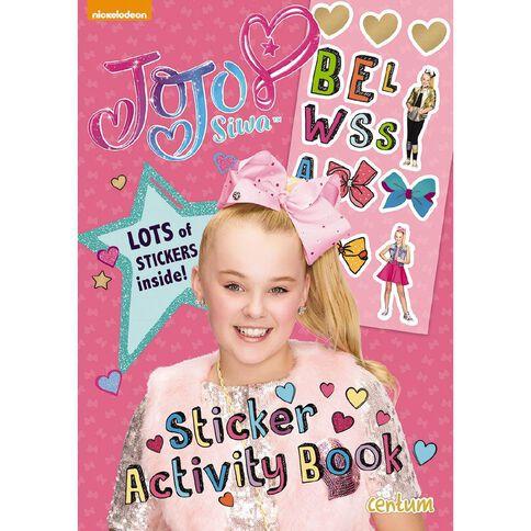 Jojo Siwa Sticker Activity Book by JoJo Siwa
