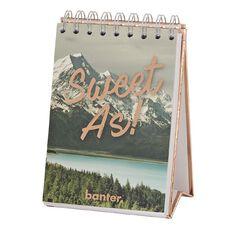 Banter Kiwiana Desk Notebook