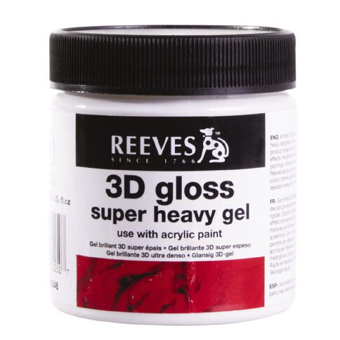 Reeves Super Heavy Gloss Gel 237ml