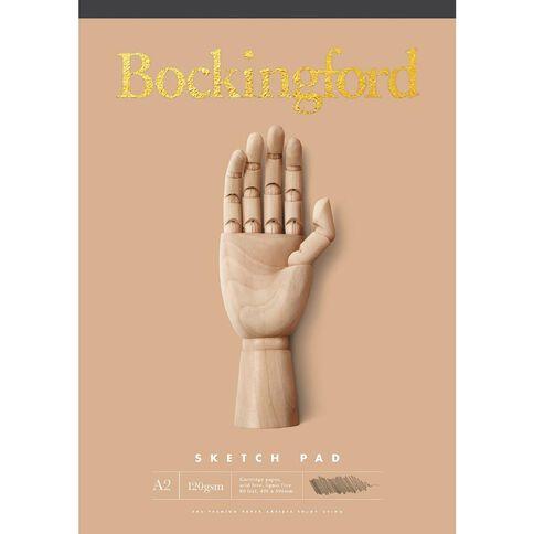 Bockingford Sketch Pad B21 110gsm 60 Leaf A2 Yellow A2