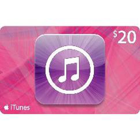 Apple Itunes $20