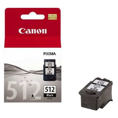 Canon Ink PG512 Black (401 Pages)