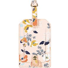 Uniti Winter Bloom Luggage Tag