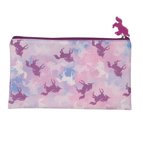 WS Pencil Case Flat Unicorn