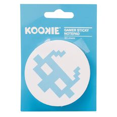 Kookie Gamer Sticky Notepad 200 Sheets