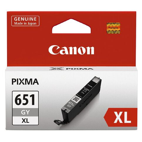 Canon Ink CLI651XL Grey (750 Pages)