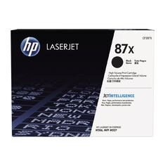 HP 87X Black Contractual LaserJet Toner Cartridge (18000 Pages)