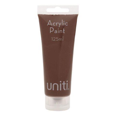 Uniti Acrylic Tube Brown 125ml
