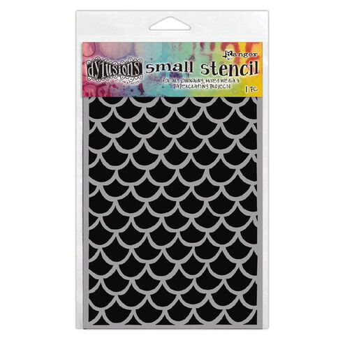 Ranger Dylusions Stencil Fishtails Small