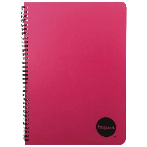 Impact Notebook PP Wiro Pink A4 Pink A4