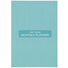 Planner Any Year Monthly Planner Personal Diary B5