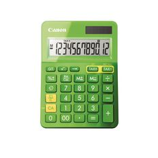 Canon LS-123K Desktop Calculator Green