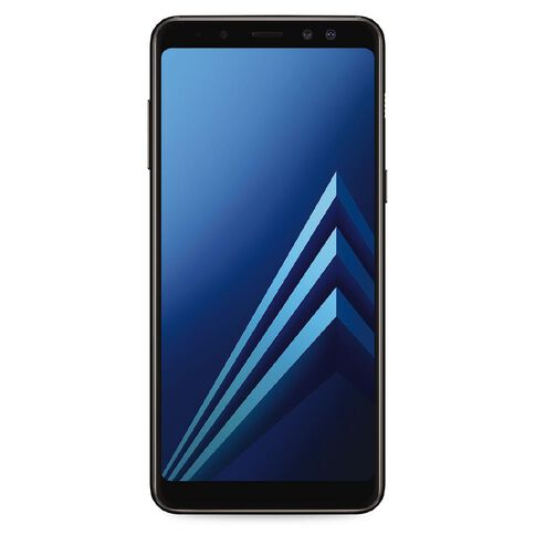 2degrees Samsung Galaxy A8 Black