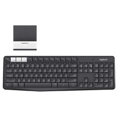 Logitech Bluetooth Multi Device Keyboard K375S Black