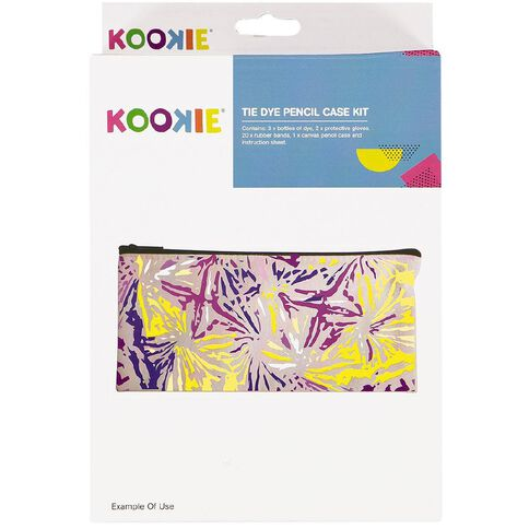 Kookie Tie Dye Kit Pencil Case