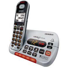 Uniden Sse35 Visual & Hearing Impaired Cordless Phone White