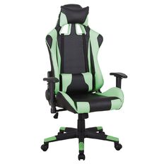Workspace Gaming Chair Black/Green