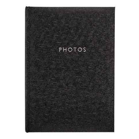 Living & Co Photo Album Black 4in x 6in 300 Pockets
