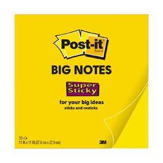 Post-It Big Notes BN11 279 x 279mm Yellow