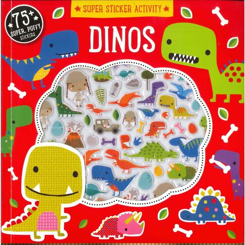 Puffy Stickers Dinosaur