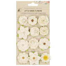Little Birdie Embellishment Elise 12 Piece
